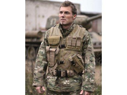 Taktická vesta MIL-TEC USMC Coyote