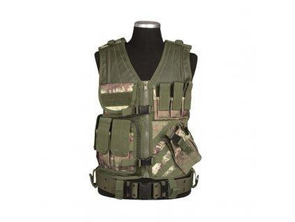 Taktická vesta MIL-TEC USMC Vegetato Woodland