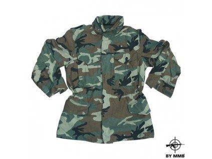 Kabát MMB US M65 NYCO Woodland