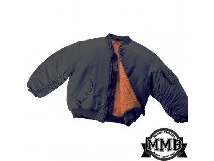 Bunda MMB MA-1 Černá