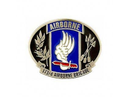 Přezka E.E. na opasek 173rd Airborne Division