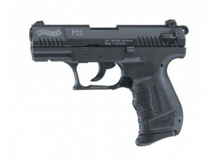 Plynová pistole Umarex Walther P22 Černá  cal. 9 mm