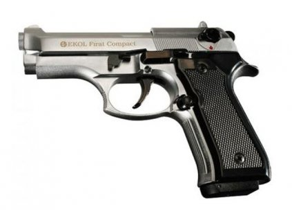 Plynová pistole Ekol Firat Compact Nikl cal. 9 mm P.A.