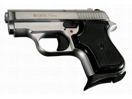 Plynová pistole Ekol/Voltran Tuna Nikl cal. 8 mm Knall