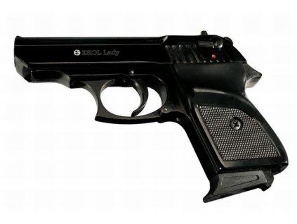 Plynová pistole Ekol/Voltran Lady Černá cal. 9 mm P.A.