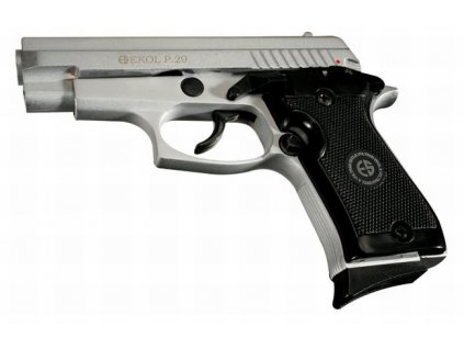 Plynová pistole Ekol P29 Nikl cal. 9 mm P.A.