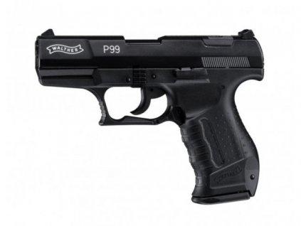 Plynová pistole Umarex Walther P99 Černá cal. 9 mm