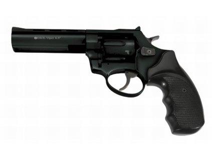 """Plynový revolver Ekol Viper 4,5"""" Černý cal: 9mm R / 9mm P.A. Knall"""