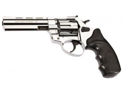 """Plynový revolver Atak Arms Zoraki R1 4,5"""" lesklý chrom cal: 9mm R / 9mm P.A. Knall"""