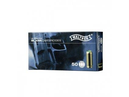 Náboj Walther akustický 9mm pistole - 50 ks