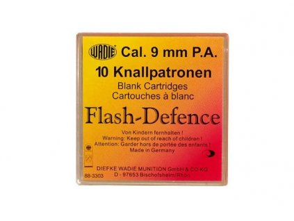 Náboj Wadie Flash Defence 9mm pistole - 10 ks