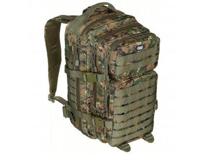 batoh us assault pack 30l digital woodland max fuchs