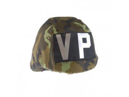 Povlak AČR 95 na přilbu s označením pro VP