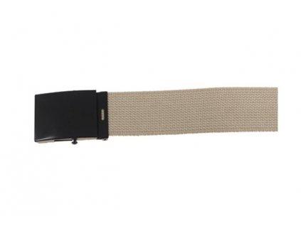 Pásek do kalhot Max-Fuchs 4,5 cm Khaki