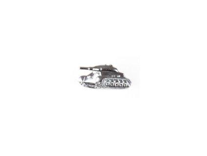 Znak rozlišovací AČR stříbřitý pro tankové vojsko