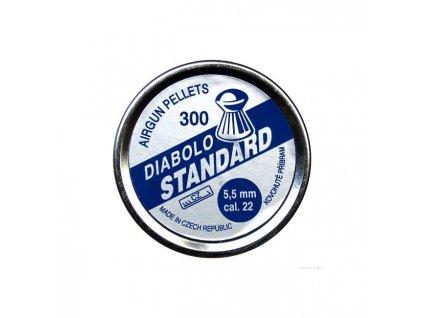 Diabolky Kovohutě Příbram Standard 300, 5,5mm