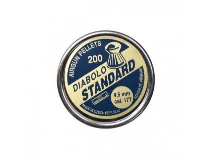 Diabolky Kovohutě Příbram Standard 200, 4,5mm  (.177)