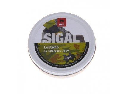 Leštidlo SIGA na vojenskou obuv 100 g - Černé