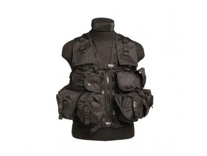 Taktická vesta MIL-TEC 9 kapes Černá
