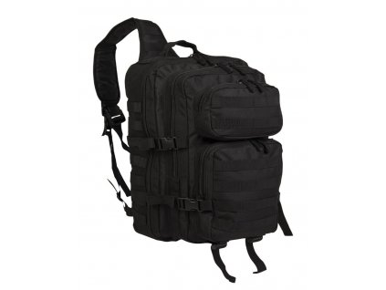 batoh us assault pack large jednopopruhovy cerny