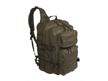 batoh us assault pack large jednopopruhovy olive