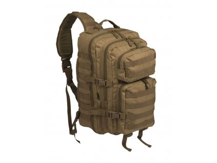batoh us assault pack large jednopopruhovy coyote
