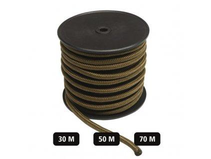 Šňůra MIL-TEC Commando 5mm Coyote - role 70m