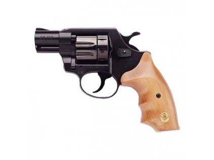 "Flobertkový revolver ALFA 620 2,5"" černá-dřevo cal. 6mm ME-Flobert"