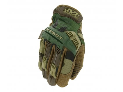 Rukavice Mechanix Wear M Pact Woodland Camo 1