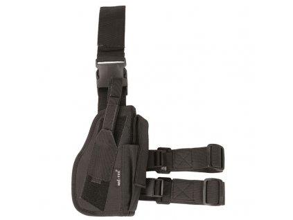 Pouzdro MIL-TEC na pistoli stehenní pravé Černé