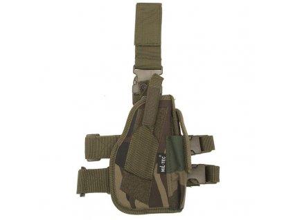 Pouzdro MIL-TEC na pistoli stehenní pravé Woodland