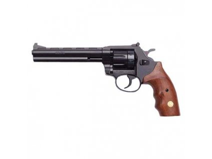 "Flobertkový revolver ALFA 661 6"" Černá-dřevo cal. 6mm ME-Flobert"