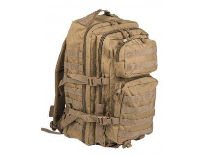 Batoh MIL-TEC US Assault Pack LG 36l Coyote
