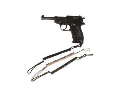 Pojistná šňůra MIL-TEC na zbraň - zelená