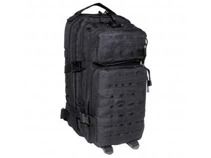 "Batoh Max-Fuchs US Assault I ""LASER"" 30l Black"