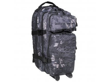 batoh us assault pack laser 30l snake black camo max fuchs