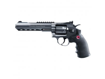 airsoft revolver ruger superhawk black 6 palcu