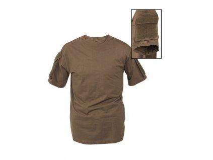 Taktické tričko MIL-TEC krátký rukáv Olive