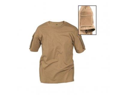 Taktické tričko MIL-TEC krátký rukáv Coyote