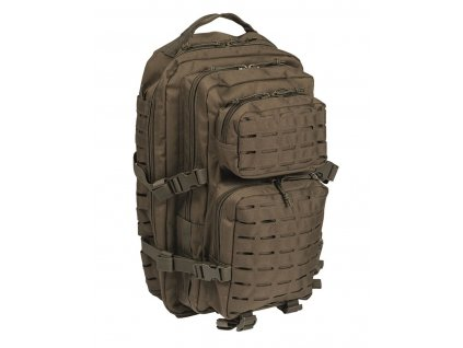 Batoh MIL TEC US Assault LASER CUT 36l Olive