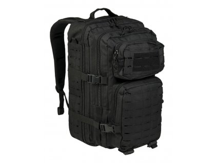 Batoh MIL TEC US Assault LASER CUT 36l Black