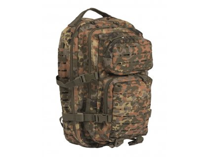 Batoh MIL TEC US Assault LASER CUT 36l Flecktarn