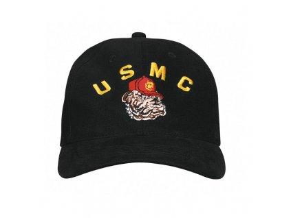 Čepice Rothco USMC Bulldog Černá