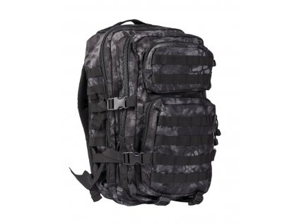 Batoh MIL TEC US Assault Pack LG 36l Mandra Night