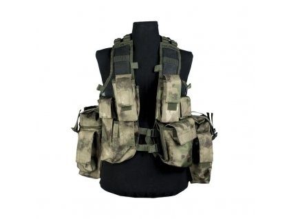 Taktická vesta MIL-TEC 12 kapes Mil-Tacs FG