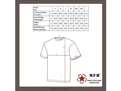 Tričko krátký rukáv US styl Zifra Flora