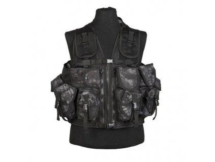 Taktická vesta MIL-TEC 9 kapes Mandra night