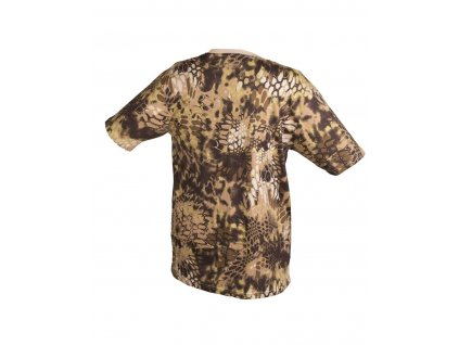 Tričko krátký rukáv US styl Mandra Tan
