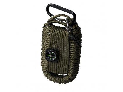 Set pro přežití MIL-TEC Paracord Olive - velký