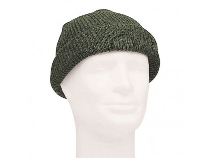 Čepice MIL-TEC pletená Olive - vlněná